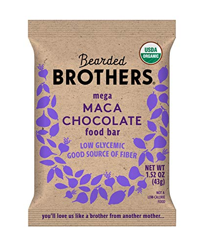 Bearded Brothers Vegan Organic Energy Bar | Gluten...