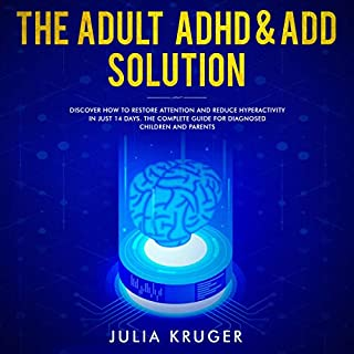 The Adult ADHD & ADD Solution audiobook cover art