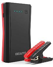 Beatit B10PRO ジャンプスターター 大容量 12V 車用エンジンスターター 最大電流800A QDSP技術 最大7.2Lガソリン車 5.5ディーゼル車に対応 Type-Cポート搭載 モバイルバッテリー ポータブル充電器 防災グッズ スマホ急速充電 小型軽量 LED応急ライト搭載 24ヶ月保証