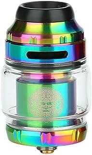 GeekVape Zeus X RTA 2ml Doble/Simple Bobina, Original Atomizador sin liquido, sin nicotina (Rainbow)