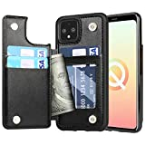 Arae Case for Google Pixel 4 - Wallet Case with PU Leather Card...