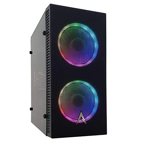 Allied Home Office Desktop PC: AMD Athlon 3000G Processor, AMD Radeon Vega Graphics, 8GB DDR4 2666MHz, 240GB SSD, A320 Motherboard, 550 Watt PSU, ARGB Fans, WiFi Ready
