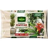 Vilmorin - Terreau rempotage plantes d'intérieur vertes et fleuries - Sac de 5 litres