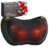 Zuzuro Shiatsu Pillow Massager with Heat – Electric Pillow Back & Neck...