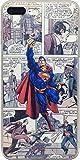 ECHC TPU Flexible Comic Book Superhero Case for iPhone (Superman, 7 and 8)