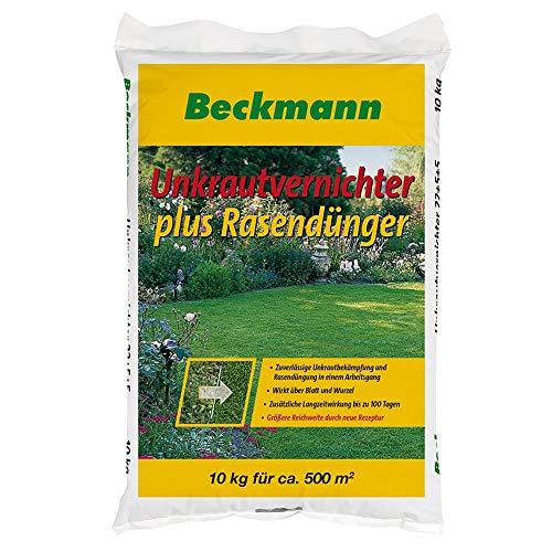10 kg Rasendünger mit Unkrautvernichter für ca 500m² mit Langzeitwirkung