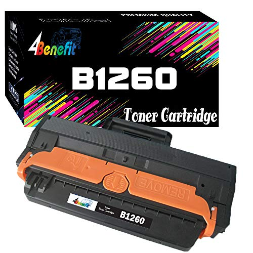 1-Pack 4Benefit Compatible Dell E331-7328 RWXNT DRYXV B1260 Toner Cartridge Used for Dell 1260 B1265dnf B1265dfw B1260dn B1265dnSeries Printer