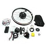 Aohuada Kit de conversión para rueda delantera de bicicleta eléctrica de 20 pulgadas, 36 V/48 V,...