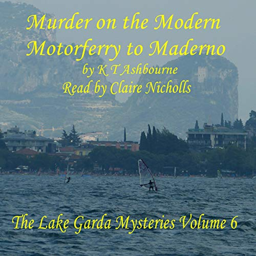 Murder on the Modern Motorferry to Maderno cover art