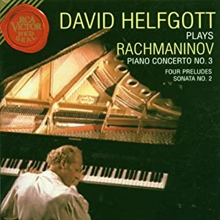 David Helfgott Plays Rachmaninov: Piano Concerto No. 3; Four Preludes; Sonata No. 2 by Rachmaninoff, S. (1996) Audio CD