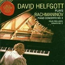 David Helfgott Plays Rachmaninov: Piano Concerto No. 3; Four Preludes; Sonata No. 2 by Rachmaninoff, S. (1996) Audio CD