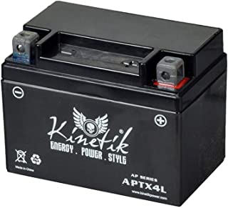 5Star-TD UT4L - 12v 4Ah Rechargeable Battery 49cc 50cc 60cc 80cc Moped Scooter