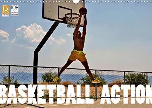 Basketball Action (Wandkalender 2021 DIN A3 quer)