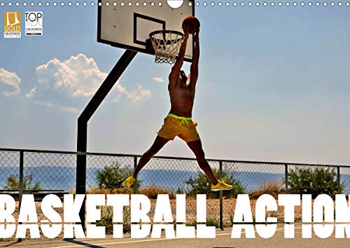 Basketball Action (Wandkalender 2021 DIN A3 quer)