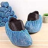 ZOI 100 Unids/Set Cubiertas de Zapatos de plástico Desechables Limpieza de alfombras Huéspedes Cubiertas de Polvo de Zapatos Herramientas de Limpieza Accesorios Sanitarios de Interior Uso en el hogar