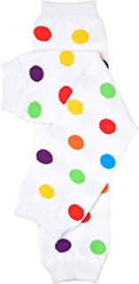 juDanzy Rainbow Polka Dot Baby and Toddler Leg Warmers
