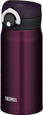 サーモス 水筒 真空断熱ケータイマグ 【ワンタッチオープンタイプ】 350ml ミッドナイトブラック JNR-350 M-BK