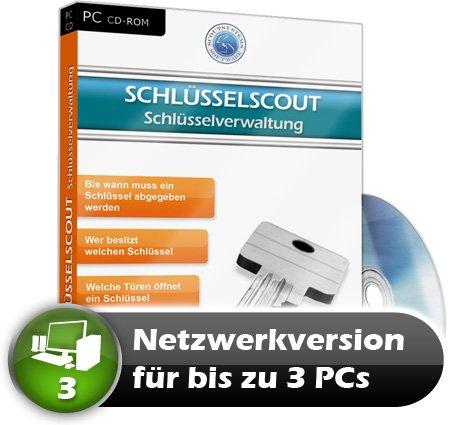 Faktura Manager Schlüsselverwaltung Rechnungsprogramm Netzwerk Software 3 PC