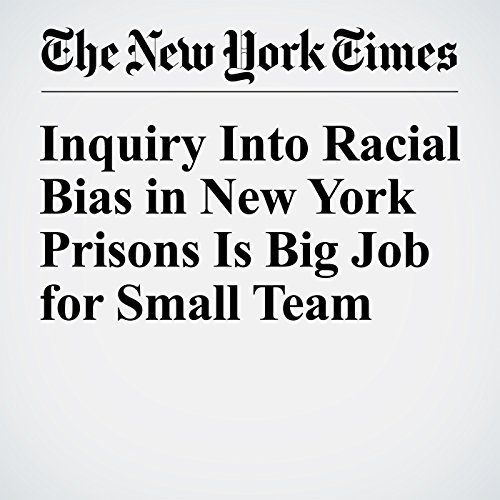Inquiry Into Racial Bias in New York Prisons Is Big Job for Small Team audiobook cover art
