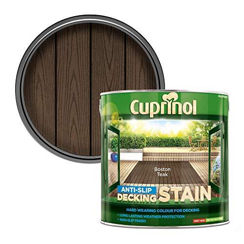 Cuprinol 5092617 2.5L anti slip Decking Stain Bos