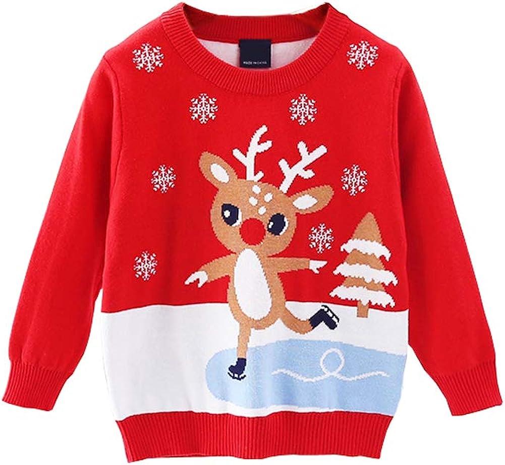 ILAVSUN Tulsa Mall Girl Ugly Christmas Sweater - Boy Double Toddler K New Free Shipping Layer