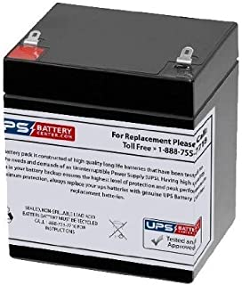 12V 5Ah F1 - Replacement Battery Compatible with The Mipro MA-707 Portable Sound System