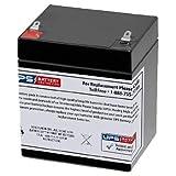12V 5Ah F1 - Battery Replacement for Chamberlain 41A6357-1 Garage Door Opener by UPSBatteryCenter