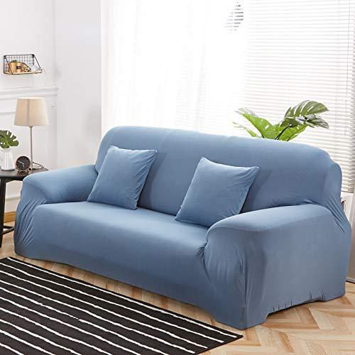 ASCV Moderne elastische Sofabezug Ecksofa Couch Schonbezug Sofabezug für Wohnzimmer A4 4-Sitzer