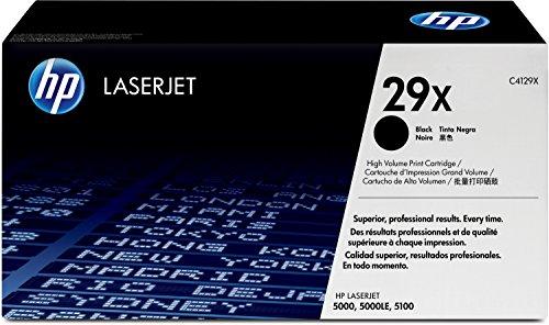 HP 29X (C4129X) Schwarz Original Toner mit hoher Reichweite für HP Laserjet 5100