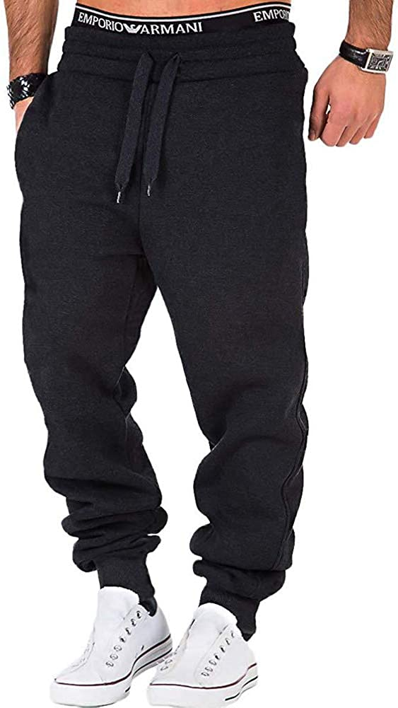Men's Sweatsuits Tracksuit 2pcs Set Patchwork Sweatshirt Solid Jogger Sweatpants Winter Warm Sports Suit Activewear