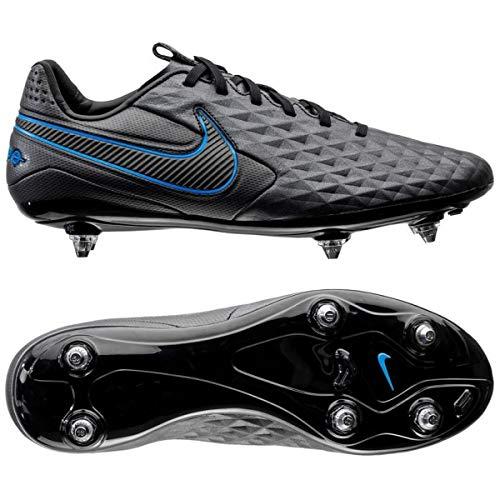 Nike Legend 8 Pro SG, Botas de fútbol Unisex Adulto, Multicolor (Black/Black-Blue Hero 4), 40.5 EU