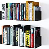 shiok decor® Wall Mount Metal U Shape Shelf Book CD DVD Storage Display
