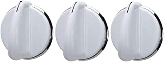 Washer Knob fits for GE 175D3296 Washing Machine (Pack of 3)