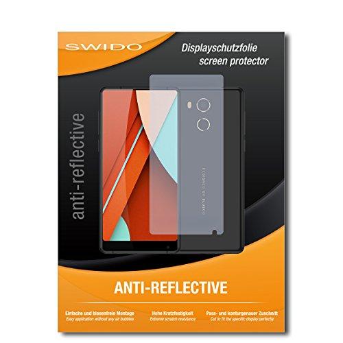 SWIDO Bildschirmschutz für Bluboo D5 Pro [4 Stück] Anti-Reflex MATT Entspiegelnd, Hoher Festigkeitgrad, Schutz vor Kratzer/Glasfolie, Schutzfolie, Bildschirmschutzfolie, Panzerglas Folie
