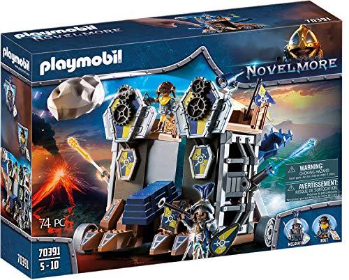 Playmobil Novelmore 70391 - Fortezza mobile di Novelmore