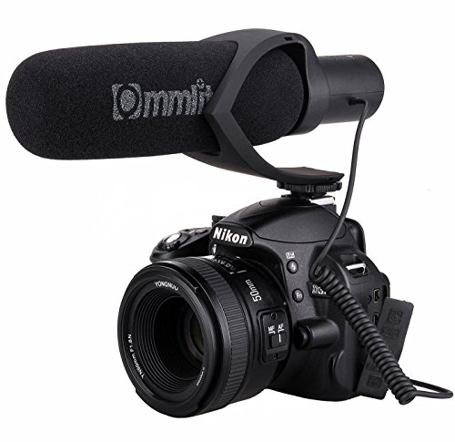 Comica CVM-V30 Shotgun Camera Microphone Super-Cardioid Directional Condenser Photography...