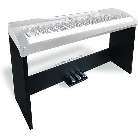 Alesis Coda Stand – Soporte con tres pedales para piano digital Coda y Coda Pro
