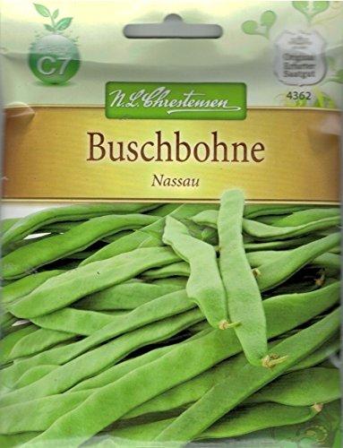 Chrestensen Buschbohne 'Nassau' Saatgut