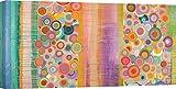 ART PRINT CAFE' – Quadro Astratto, Geometrico - Stampa su Tela - Italo Corrado – Primavera Pop – Misura 70x35 cm