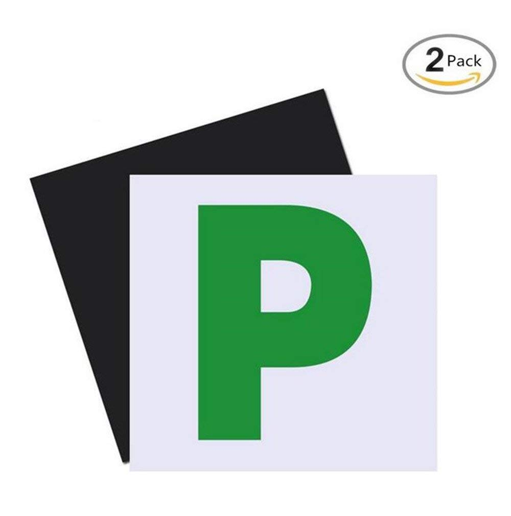 NOT MAGNETIC L PLATES CAR LEARNER SIGN STICKERS VEHICLE STICKER DECAL