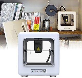 comprar comparacion HUKOER Mini impresora 3D, impresora completamente ensamblada con software de corte 90 * 110 * 110 mm, impresión de una tec...