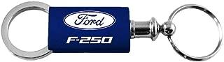Ford F-250 F250 Navy Valet Key Fob Authentic Logo Key Chain Key Ring Keytag Lanyard