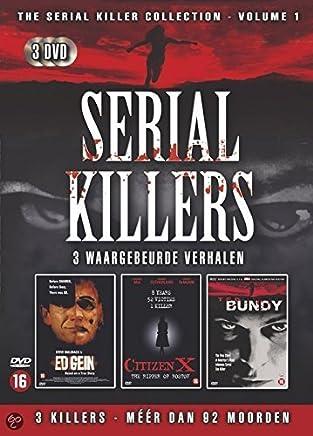 Serial Killers [3DVD box] Ed Gein - Citizen x - Ted Bundy [UNCUT VERSIONS] by Stephen Rea