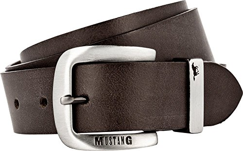 Mustang Belts Herren MG2003R01 Gürtel, Braun (Dark Brown 0691), 85 cm