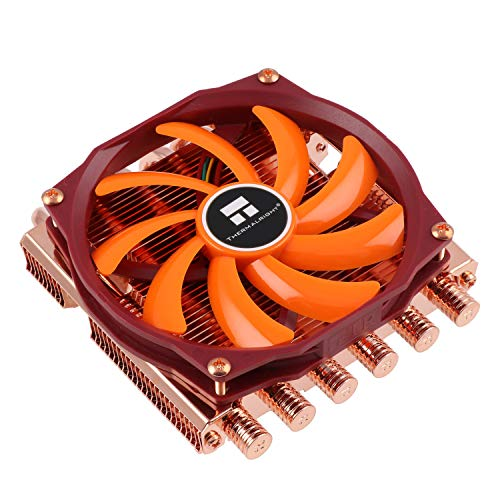 Thermalright AXP-100 Full Copper, Volllkupfer-Kühler für Intel LGA 775/1150/1151/1155/1156/1366/2011/2011-3/ & AMD AM2/AM2+/AM3/AM3+/FM1/FM2/FM2+/AM4, Low Profile, TY 100R Lüfter (900-2.500 U/min,