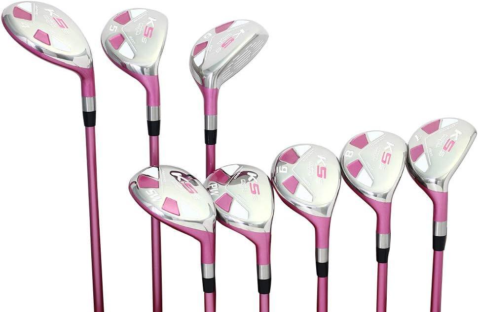 5 Best Golf Club Sets for Senior Women (2021ComparisonGuide) - Majek Pink