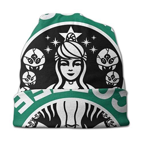 xuexiao Strickmütze für Männer & Frauen - Winter Rodelhüte für kaltes Wetter Metroid Starhunt Samus Aran Kaffee Mütze Cap