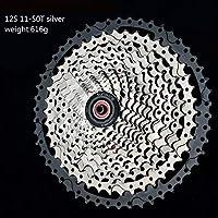 8S 9S 10s 11S 30s Geschwindigkeit 36/42/46 / 50t Freilauf Breite Verhaltnis Mountainbike Fahrrad Schwungrad フリーホイール (Color : 12S 11 50T silver)