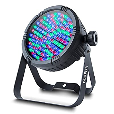 Marq Colormax PAR56 Professional 108 LED Stage Effect Party Lighting for Discos, Halloween, Christmas, Weddings Events