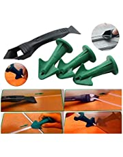 Kalefateren Nozzle Scraper Set Herbruikbare Sealant Angle schraper Silicone Grout Caulk Gereedschap (Color : 3PCS)
